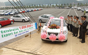 Hyundai et l'Afrique : Le million !