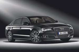 Audi A8 Security : Limousine pare-balles
