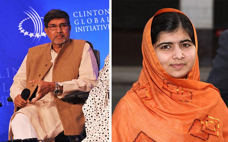 Le Nobel de la paix attribute à la Pakistanaise Malala et à l'Indien Satyarthi