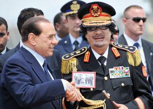 Kadhafi tourne la page du passé colonial