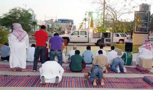 Arabie Saoudite : des mosquées mobiles pour les passionnés de foot