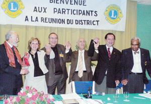 Le lionisme marocain en action