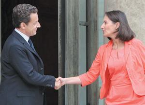 Ségolène Royal tance Nicolas Sarkozy pour mieux séduire le PS