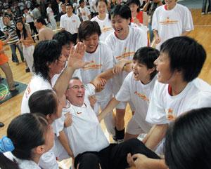 La Chine fait appel à des entraîneurs étrangers