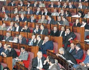 Session de rattrapage au Parlement