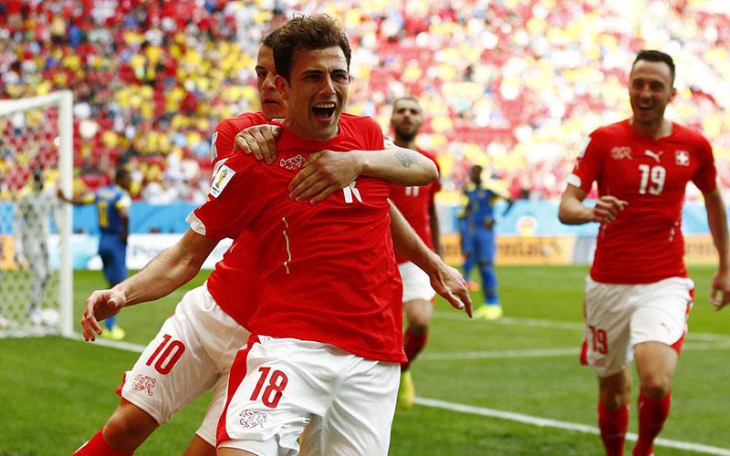 Coupe du monde 2014 – Groupe E : La France assure la Suisse fini le travail