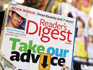 Le magazine Reader's Digest se déclare en faillite