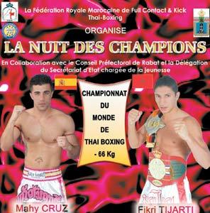 Kick-Boxing : Duel pour le titre mondial