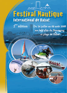 Un festival nautique international à Rabat