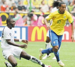 Le Ghana domine le Brésil sans marquer