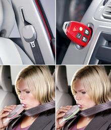 Volvo invente une ceinture alcotest