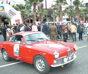 Rallye Classic 2007 : étape préliminaire