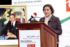 Débat sur l'eau et les zones humides en Méditerranée à Agadir