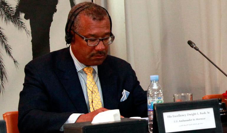 L'ambassadeur des Etats-Unis au Maroc en visite à Tanger Free Zone