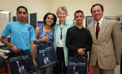 De jeunes marocains à la Coupe du monde