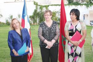 Le Chili rend hommage à deux associations marocaines