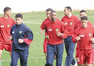 Équipe nationale : Fakhir se fait tacler
