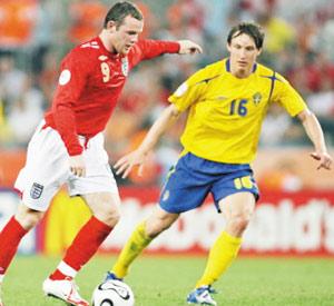 L'Angleterre rate à nouveau la Suède