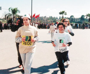 Course contre le cancer à Rabat
