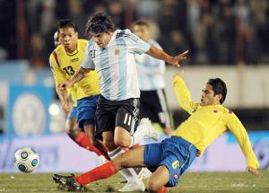 Court mais précieux succès de l'Argentine