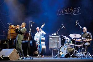 Tanjazz 2011 : L'artiste Roy Hargrove fait chauffer l'ambiance