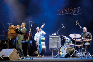 Tanjazz 2011 : L'artiste Roy Hargrove fait chauffer l'ambiance