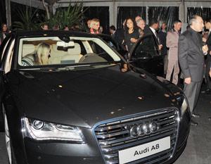 Audi A8 : rencontre au sommet