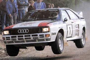 Audi Quattro : 25 ans déjà