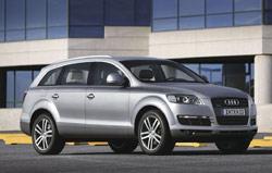 Audi Q7 : Star à l'Auto-Expo 2006