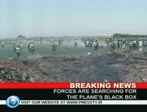 Iran : 168 morts dans le crash d'un avion