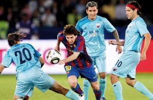 Mondial des clubs : le Barça en finale après un succès facile face à Atlante
