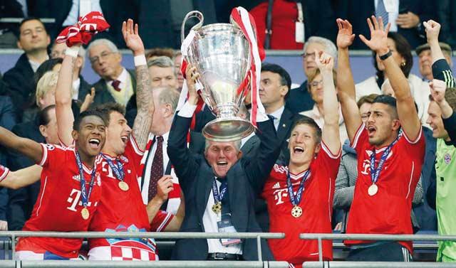 Ligue des champions : Le Bayer Munich roi d Allemagne, champion d Europe