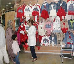 Béni Mellal : Ruée vers les centres commerciaux à la veille de l'Aïd