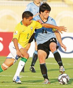 Le Brésil en quart contre l'Allemagne