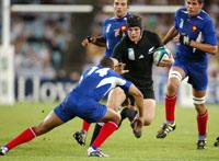 Rugby : la France contre l'Afrique du Sud