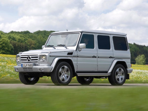 Mercedes Classe G : Le plus vintage des tout-terrain