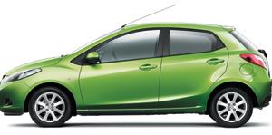 Nouveauté nationale : Mazda2 : Verte, mais bien mûrie