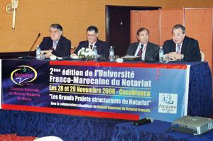 Deuxième édition de l'Université franco-marocaine du notariat