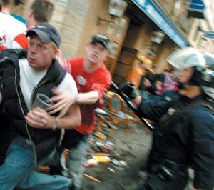 Allemagne-hooliganisme : Une vingtaine de blessés suite à des matches à Dresde