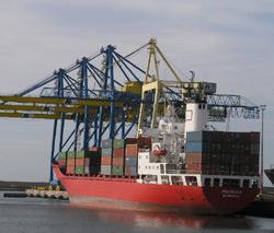 Tensions sur le fret maritime