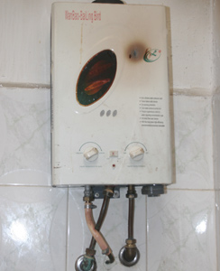 Sécurité : Chauffe-eau à gaz sans risque