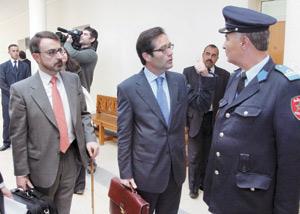 Le juge Juan del Olmo procède à un prélèvement d'ADN sur Saâd El Houssaïni