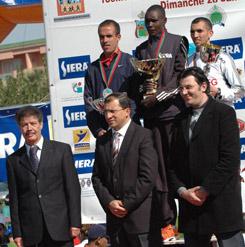 Marathon : Un Kenyan en tête à Marrakech