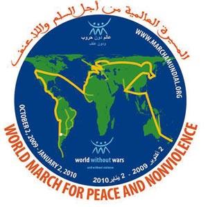 Une marche mondiale pour la paix et la non-violence