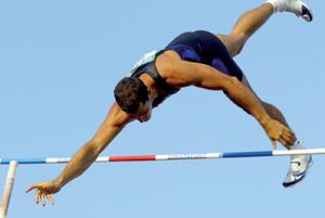 Mohcine Chaouri s'adjuge le premier rang au saut à la perche