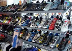 La chaussure marche bien à l'étranger