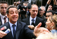 Nicolas Sarkozy dérape