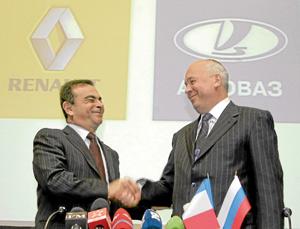 Avtovaz veut investir avec Renault-Nissan