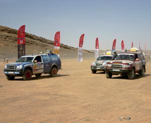 Le Rallye des Colombes fera son départ de Salé