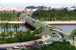 Le pont Moulay Hassan s'effondre